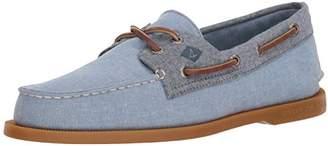 Sperry Men's A/O 2-Eye Chambray Boat Shoe
