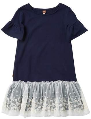 Tea Collection Ottie Embroidered Tulle Dress (Toddler, Little Girls, & Big Girls)