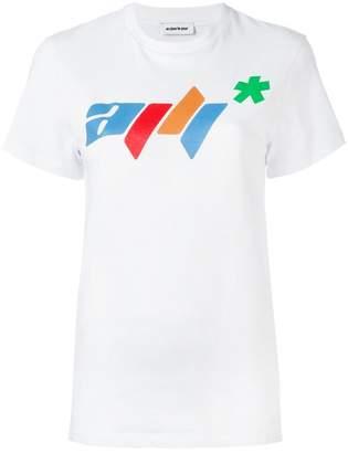 Au Jour Le Jour logo print T-shirt
