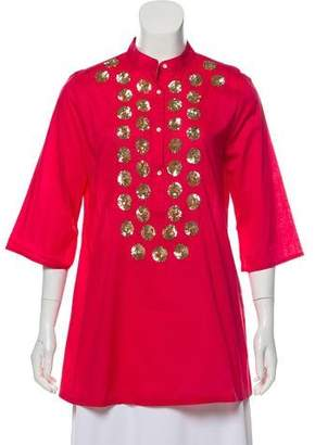 Figue Lightweight Embellished Tunic