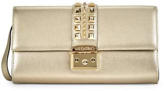 Mario Valentino Valentino By Cocotte Palmellato Studded Leather Shoulder Bag
