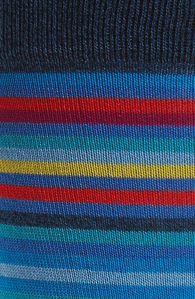 Men's Bugatchi Multicolor Stripe Socks 5