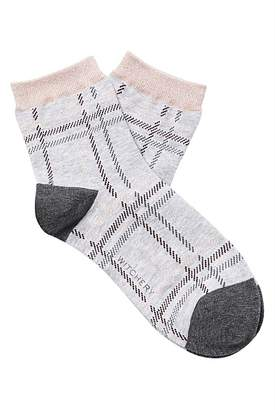Witchery Check Quarter Crew Sock