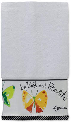"Creative Bath Flutterby 16"" x 26"" Hand Towel"