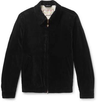 Wacko Maria + Mcgregor Cotton-Velvet Bomber Jacket