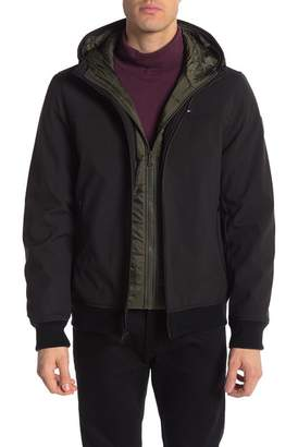 Tommy Hilfiger Insulated Soft Shell Hooded Jacket