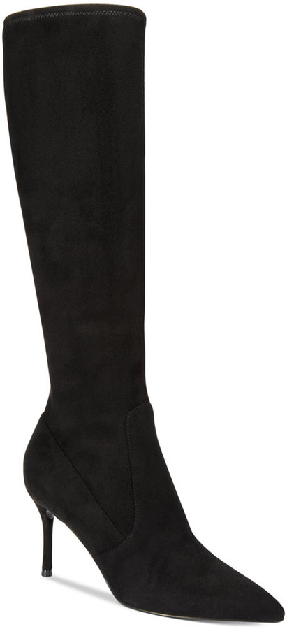 Nine West Nine West Calla Pointed-Toe Tall Boots