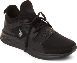 U.S. Polo Assn. Black Jace Low-Top Sneakers