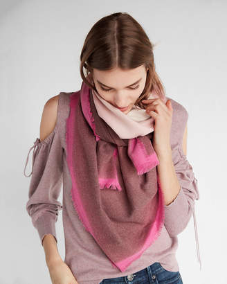 Express Ombre Square Oblong Scarf
