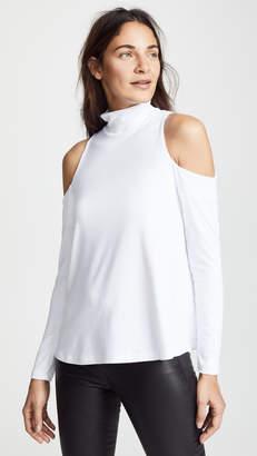 Susana Monaco Cold Shoulder Swing Top