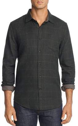 Bloomingdale's The Men's Store at Plaid Houndstooth-Print Regular Fit Flannel Shirt - 100% Exclusive