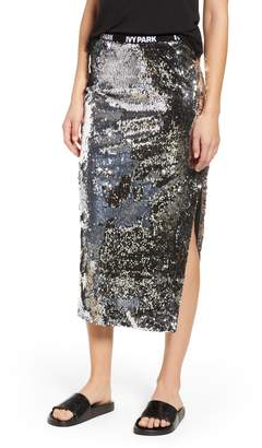 Ivy Park R) Sequin Skirt