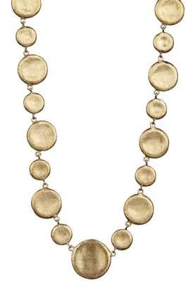 Rivka Friedman Concave Alternating Pebble Necklace