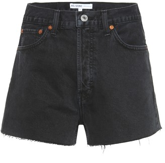 RE/DONE High-rise denim shorts