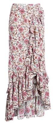 Raga Summer Bloom Ruffle Skirt
