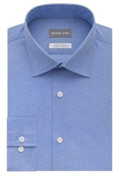 Saks Fifth Avenue Dotted Dress Shirt