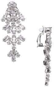 Nina Aerin Crystal Marquise-Cut Chandelier Earrings