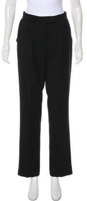 Byblos High-Rise Straight-Leg Pants