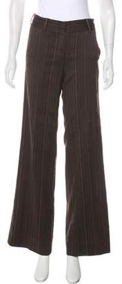 Robert Rodriguez Mid-Rise Wool-Blend Pants