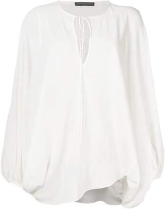 Alexander McQueen peasant sleeve blouse
