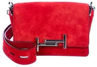 Tod's Suede Crossbody Bag