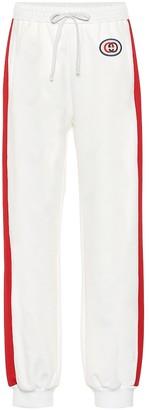 Gucci Cotton-blend track pants