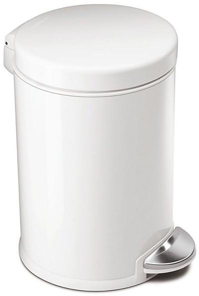 Simplehuman 4.5 Liter Mini Round Step Garbage Can