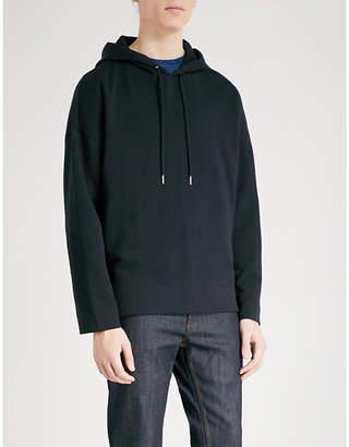 Sandro Oversized cotton-jersey sweatshirt
