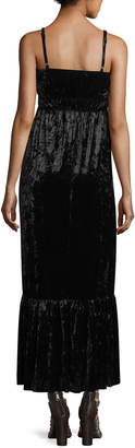 Romeo & Juliet Couture Sleeveless Velvet Maxi Dress