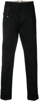 Berwich tapered tailored trousers