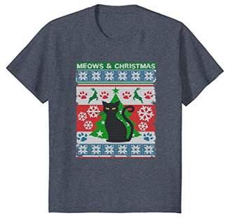 "Christmas Shirt ""Ugliest"" Cat Christmas T Shirt XC01"