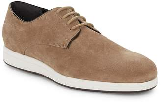 Vince Men's Yuri Embossed Suede Derby Shoes