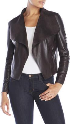 Bagatelle Faux Leather Jacket