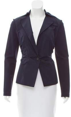 Lida Baday Ruched Lightweight Jacket w/ Tags