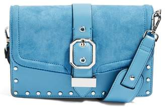 Topshop Megan Buckle Crossbody Bag