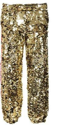 MSGM Sequined Track Pants
