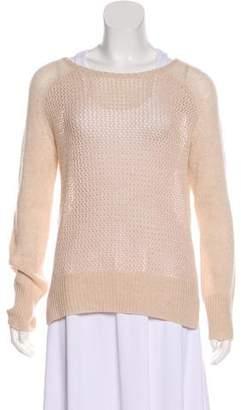 Raquel Allegra Scoop Neck Knit Sweater