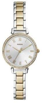 Fossil Logo Stainless Steel Bracelet Watch
