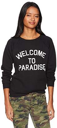 Billabong Junior's Welcome to Paradise Crew Neck Sweatshirt