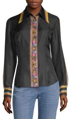 Etro Silk Button-Down Shirt