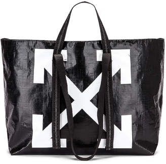 Off-White Off White New Commercial Tote Bag in Black & White | FWRD