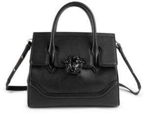 Versace Medium Palazzo Empire Leather Satchel
