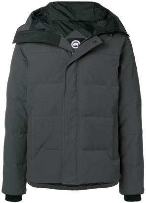 Canada Goose short hooded padded coat