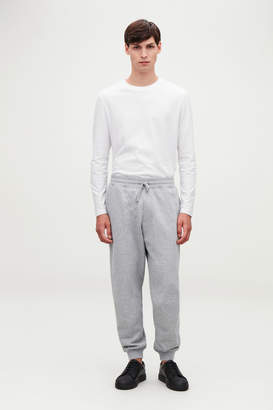 Cos JERSEY JOGGING TROUSERS