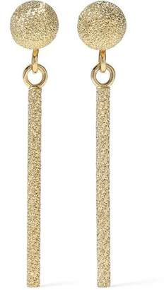 Carolina Bucci Magic Wand Short 18-Karat Gold Earrings