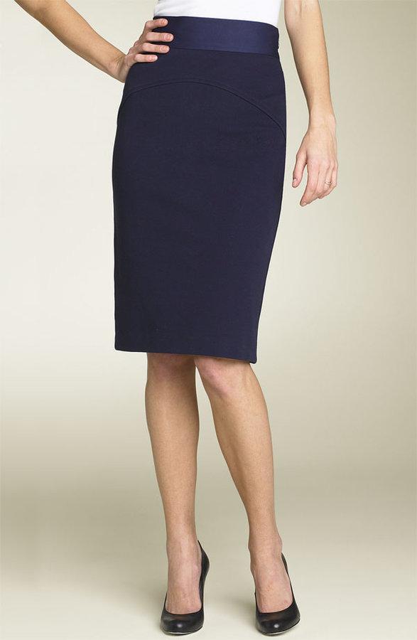 Diane von Furstenberg 'Marta' Ponte Knit Pencil Skirt