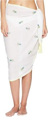 Letarte Women's Embroidered Sarong