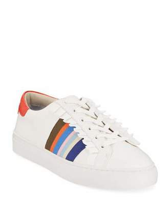 9369a869a00 Tory Sport Ruffle Low-Top Leather Sneakers
