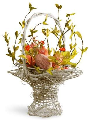 """National Tree 14"""" Decorated Easter Basket"""
