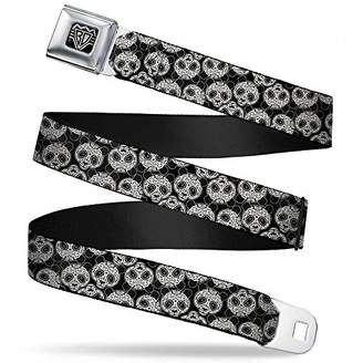Buckle-Down Unisex-Adults Seatbelt Belt Panda XL